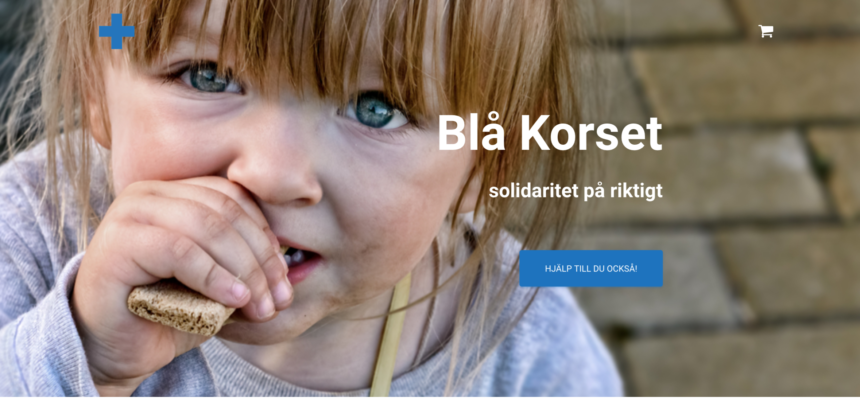 Lansering av Blå Korset – solidaritet på riktigt!