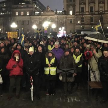 Ulrika Hallgren berättar om Mynttorgsprotesterna 16/12